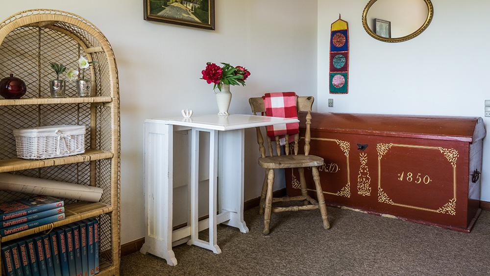 Almue-værelset på Tokkeruplund Farmhostel