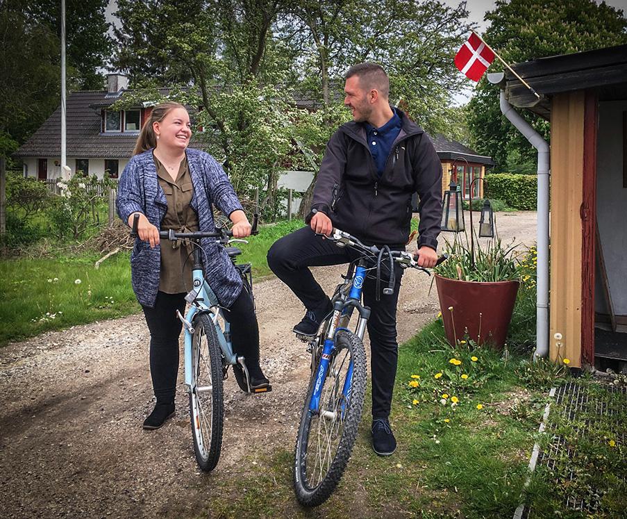 Lej en cykel på Tokkerulund Farmhostel og nyd omgivelserne.