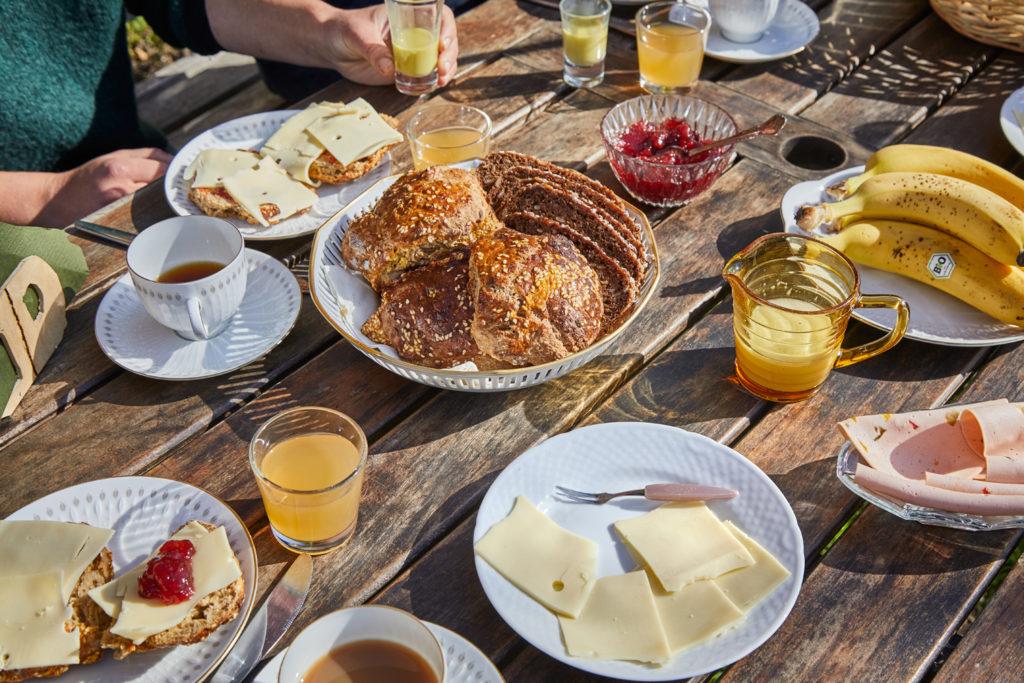 Morgenmad på Tokkeruplund